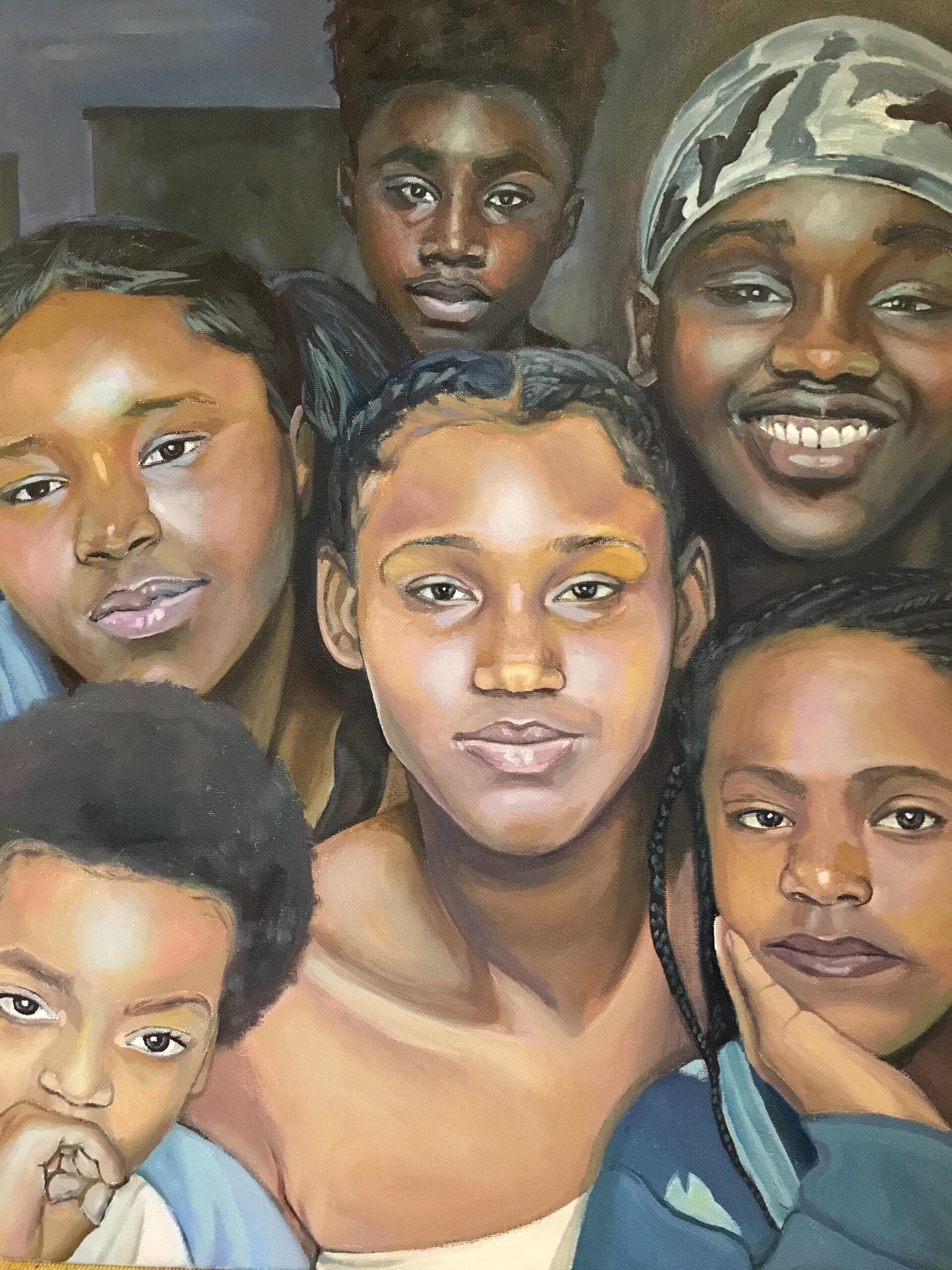 Black-Behuety-Oil-on-canvas by Carla Keaton Fine Arts
