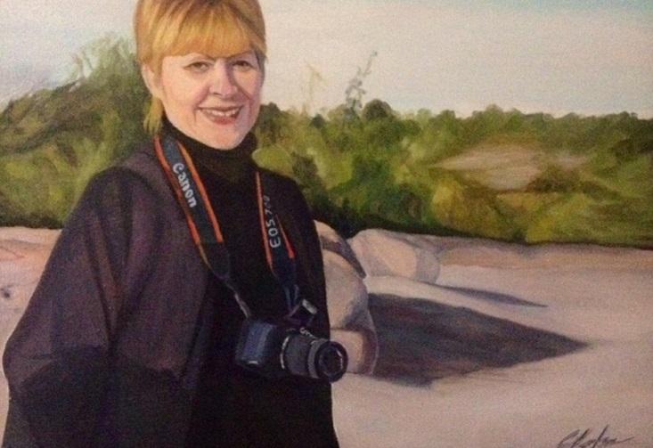Elena Thornton, Oil on Canvas, 16x20